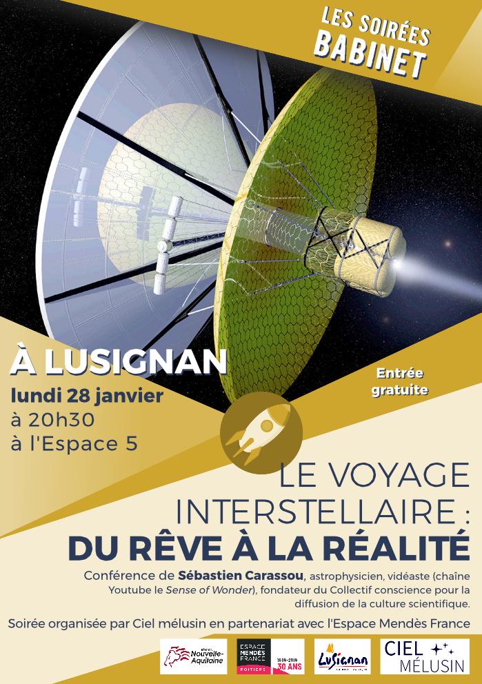 Le voyage interstellaire: du rêve à la réalité