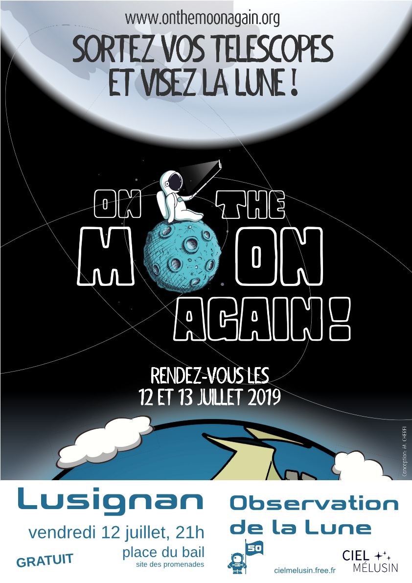 Observons la Lune ! On the Moon Again