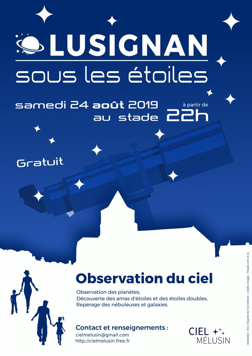 Lusignan sous les étoiles – 2019